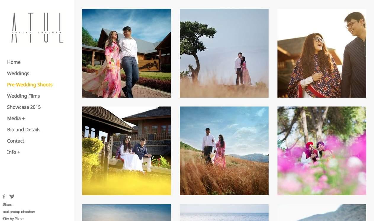 Pixpa Spotlight : Best Wedding Photographer in India - Atul Pratap Chauhan