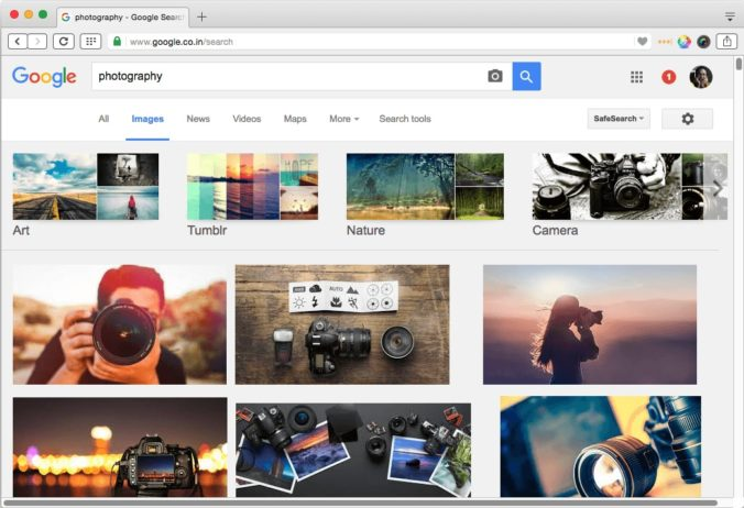 optimizing images for search