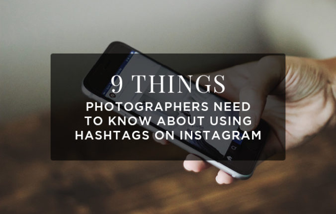How to use hashtags for photographers