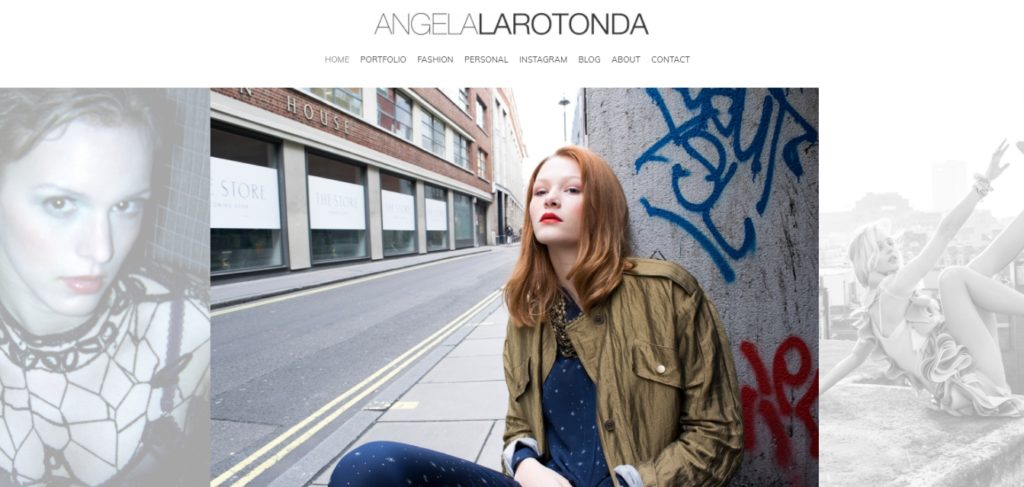 Angela Larotonda fashion portfolio