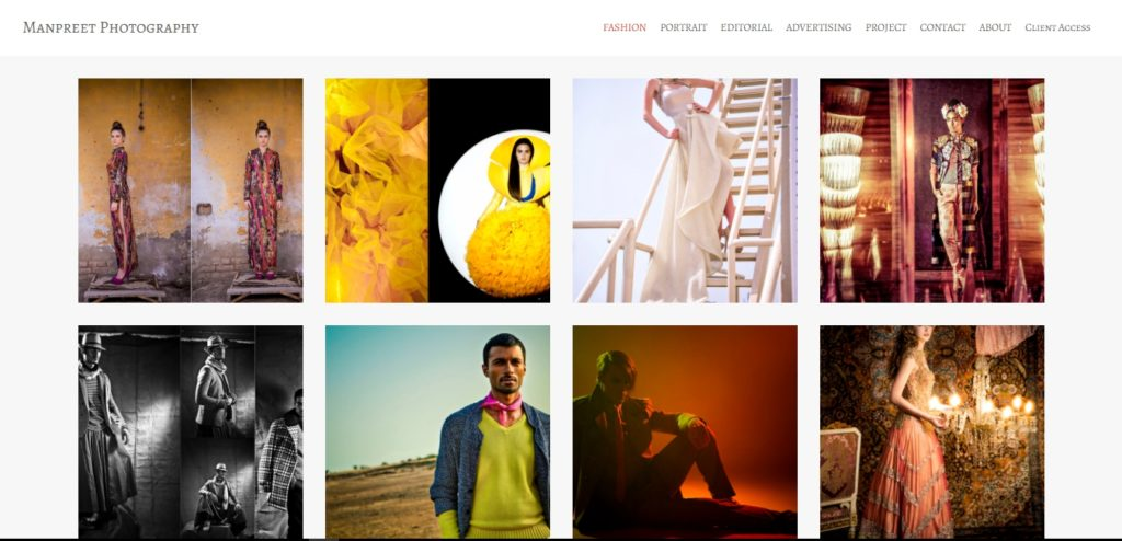 Manpreet fashion portfolio