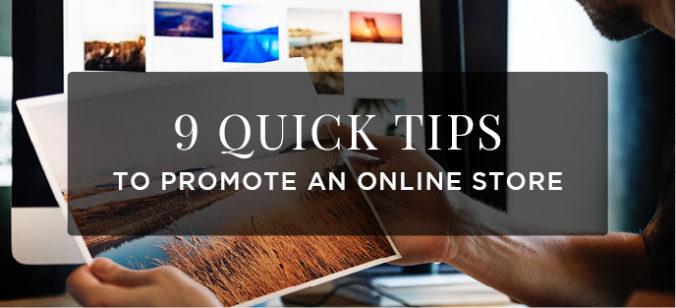 Promote online store-Pixpa